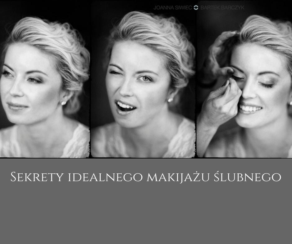 Sekrety idealnego makijażu ślubnego według Ślub Trendy